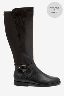 Forever Comfort® Knee High Rider Boots