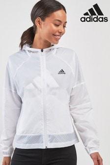 adidas White Wind Jacket