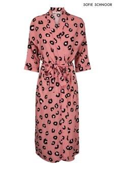 Sofie Schnoor Rose Leopard Kimono