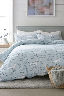 Dachshund Duvet Cover and Pillowcase Set