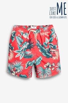 a2779b9e5c Matching Family Boys Floral Print Swim Shorts (3mths-16yrs)