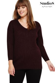Studio 8 Red Ellen Jumper