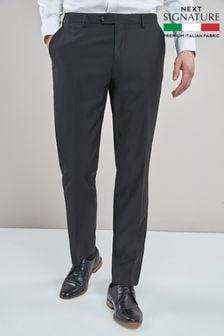 Signature Plain Suit: Trousers