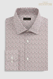 Signature Canclini Regular Fit Floral Shirt