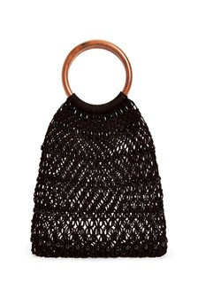 Crochet Beaded Bag