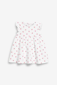 Frill Sleeve Jersey Dress (0mths-2yrs)