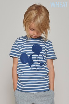 Wheat Blue Stripe Mickey™ Tee