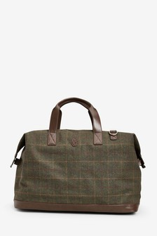 Checked Holdall
