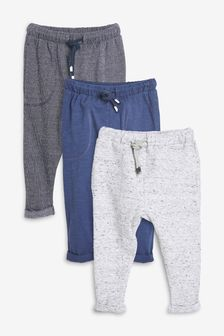 Lightweight Joggers Three Pack (3mths-7yrs)