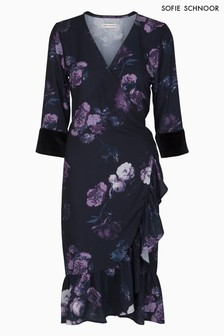 Sofie Schnoor Floral Print Wrap Dress