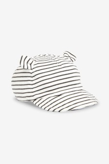 Stripe Bear Ear Cap (0mths-2yrs)