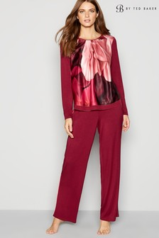 B by Ted Baker Wine Plain Jersey Pant
