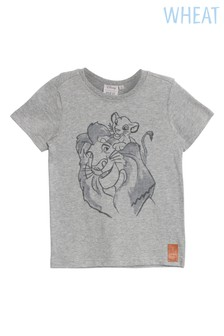 Wheat Grey Lion Family Tee
