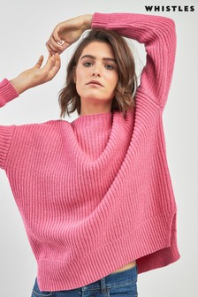 Whistles Ribbed Oversized Sweater