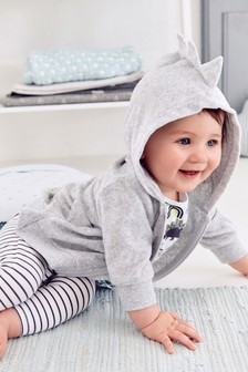Soft Towelling 3D Spine Jacket (0mths-2yrs)