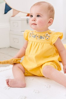 Embroidered Romper (0mths-2yrs)