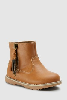 Tassel Ankle Boots (Younger)