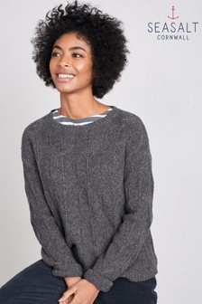 Seasalt  Graphite Villanelle Jumper