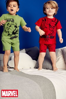 Spider-Man™/ Hulk Pyjamas Two Pack (9mths-8yrs)
