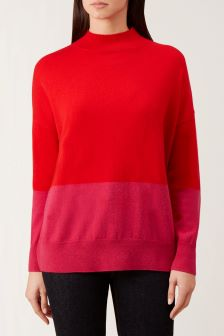 Hobbs Pink Cydney Sweater