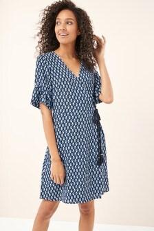 Wrap Short Dress