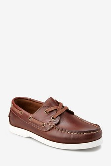 Leather Boat Shoes (Older)