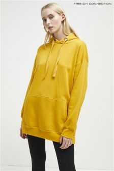 French Connection Yellow Hoody