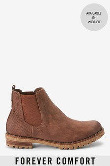 Forever Comfort® Casual Chunky Chelsea Boots