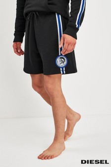 Diesel® Black Taped Logo Jersey Short