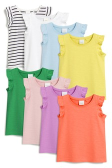 Vests Eight Pack (3mths-7yrs)