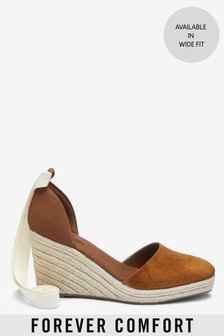 Wrap Espadrille Wedges