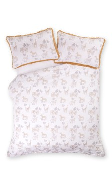 Safari Print Duvet Cover and Pillowcase Set