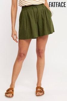 FatFace Green Flora Flippy Short