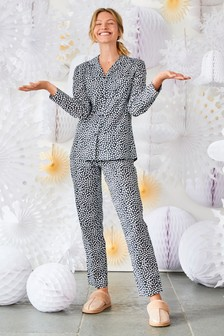 Cotton Button Through Pyjamas