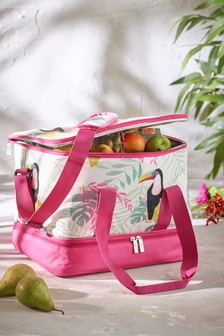 Toucan Print Cool Bag