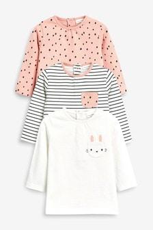 Bunny T-Shirt Three Pack (0mths-2yrs)