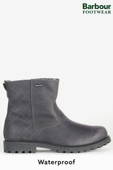 Barbour® Leather Waterproof Hartley Faux Fur Lined Boots