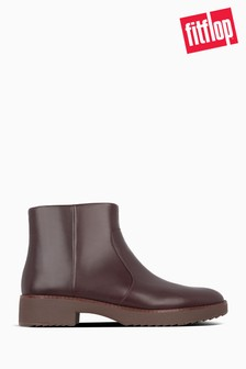 FitFlop™ Red Maria Ankle Boots