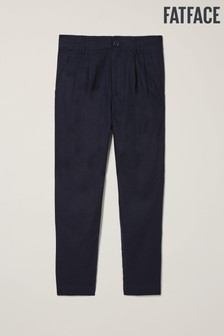 FatFace Purton Linen Blend Tapered Trousers