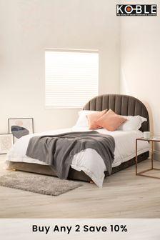 Freya Smart Bed Grey Velvet By Koble
