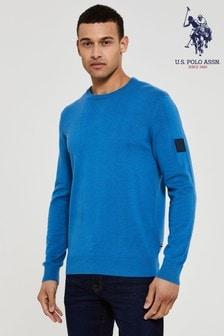 U.S. Polo Assn. Knit Crew Neck Jumper