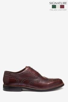 Signature Brogue Shoes