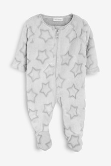 Soft Star Fleece Sleepsuit (0mths-3yrs)