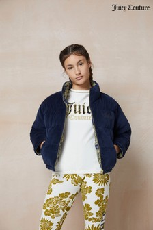 Juicy Couture Glitz Reversible Padded Jacket