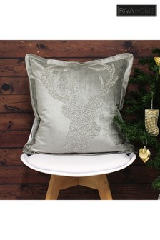 Riva Home Woodland Stag Cushion