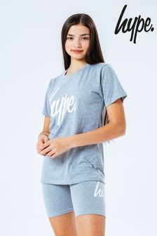 Hype. T-Shirt and Cycling Short Loungewear Set