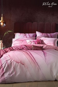 Rita Ora Pink Azumi Duvet Cover