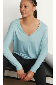 Long Sleeve Slouch Sports Top