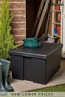 Wham Bam 150L Heavy Duty Plastic Recycled Storage Box with Lid