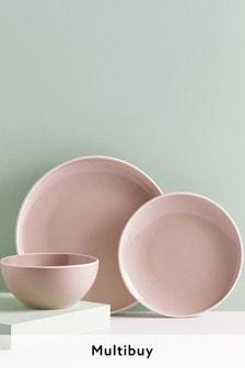 Pink Warwick 12 Piece Dinner Set